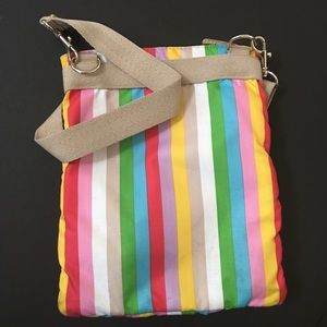 Lesportsac Bags - LeSportSac | Striped Crossbody Bag